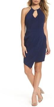 Adelyn Rae Women's Halter Sheath Dress