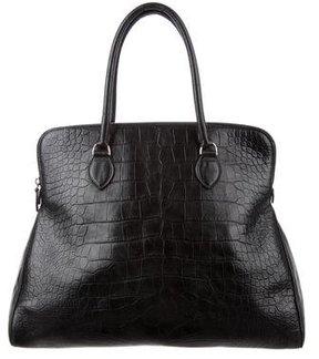 Alaïa Alligator Handle Bag