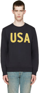 Palm Angels Navy USA Pullover