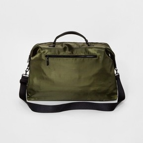 Mossimo Women's Nylon Weekender Bag Olive