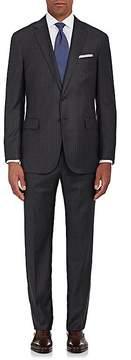 Ralph Lauren Purple Label Men's Nigel Striped Sharkskin Wool Two-Button Suit