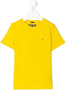 Tommy Hilfiger Junior embroidered logo T-shirt