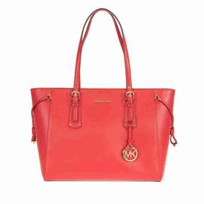 Michael Kors Voyager Medium Multifunction Tote - Bright Red - REDS - STYLE