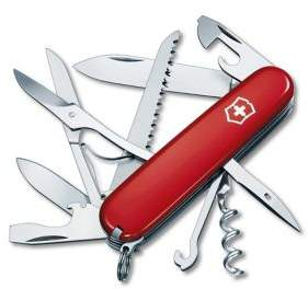 Victorinox Huntsman Stainless Steel Knife