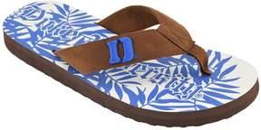 NCAA Men's Duke Blue Devils Tropical Flip-Flops