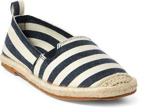 Ralph Lauren Beakon Striped Espadrille