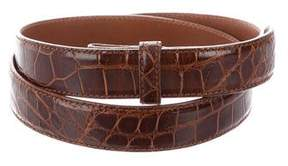 Ralph Lauren Alligator Belt Strap
