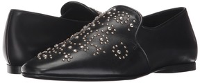 The Kooples Leather Loafer with Studs Women's Slip on Shoes