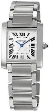 Cartier Tank Francaise Steel Men's Watch