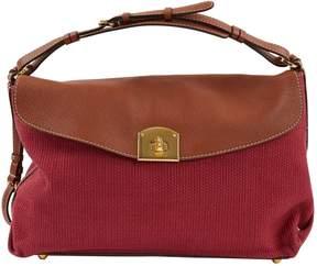 Sergio Rossi Pink Cloth Handbag