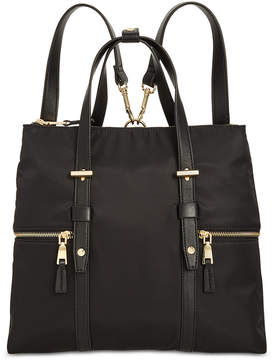 INC International Concepts I.n.c. Haili Nylon Convertible Backpack