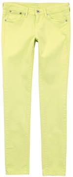 Pepe Jeans Pixlette skinny fit lemon yellow jeans