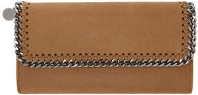 Stella McCartney Tan Falabella Continental Wallet