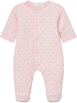 Absorba Pink Star Print Padded Babgrow