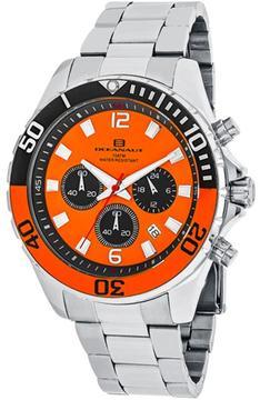 Oceanaut Sevilla OC2522 Men's Round Silver Stainless Steel Watch