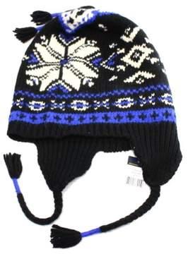 Polo Ralph Lauren Men's Cable-Knit Flag Cap (White, OS)