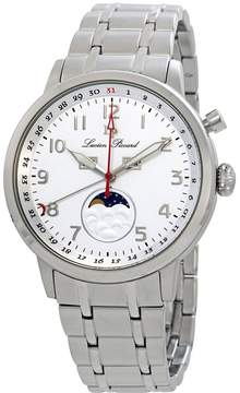 Lucien Piccard Complete Calendar White Dial Men's Watch