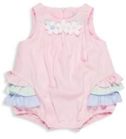Florence Eiseman Baby Girl's Ruffled Cotton Romper