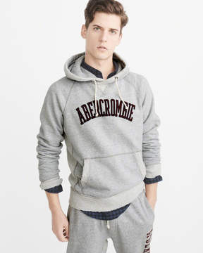Abercrombie & Fitch Heavyweight Logo Hoodie