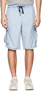 James Perse MEN'S WASHED COTTON POPLIN CARGO SHORTS