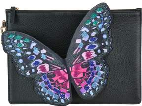 Sophia Webster Flossy Embroidered Butterfly Pochette