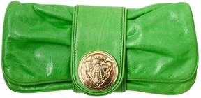 Gucci Hysteria leather clutch bag - GREEN - STYLE
