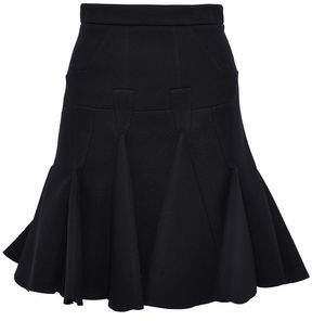 Antonio Berardi Fluted Modal-Neoprene Mini Skirt