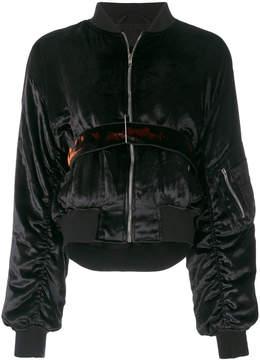 Damir Doma zipped bomber jacket
