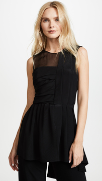 ADAM by Adam Lippes Pleated Top