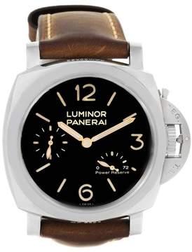 Panerai Luminor PAM00423 Stainless Steel & Black Dial 47mm Mens Watch