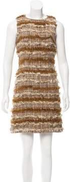 Chanel Textured Tweed Dress