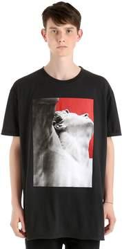 Damir Doma Oversize Printed Cotton Jersey T-Shirt