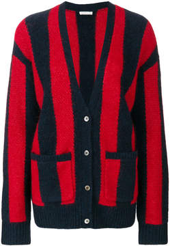 6397 Striped Knitted Cardigan
