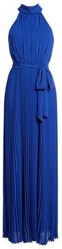 Eliza J Women's Pleated Chiffon Maxi Dress