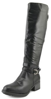Rampage Imelda Round Toe Synthetic Knee High Boot.