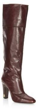 Marc Jacobs Ann Leather Knee-High Boots
