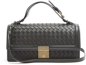 Bottega Veneta Intrecciato-woven leather bag
