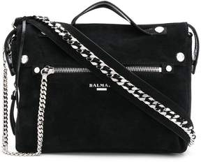 Balmain chain tote bag