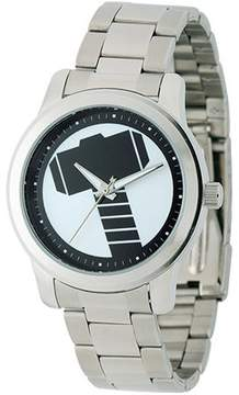 Marvel Thor Men's Silver Alloy Watch, Silver Stainless Steel Bracelet