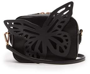 Sophia Webster Brooke Butterfly Leather Cross Body Bag - Womens - Black