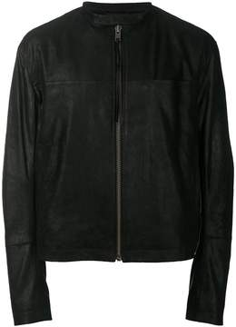 Haider Ackermann zipped leather jacket