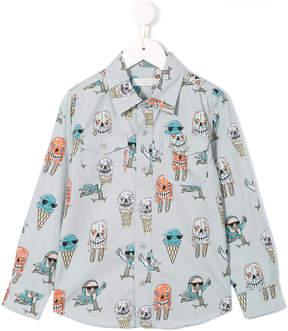 Stella McCartney ice cream print shirt