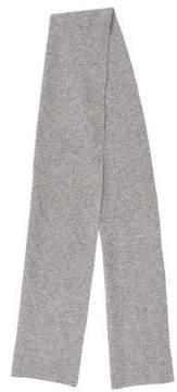 Marc Jacobs Cashmere Rib Knit Scarf