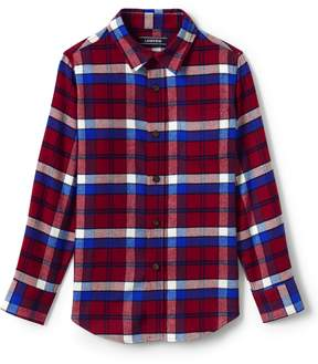 Lands' End Lands'end Boys Flannel Shirt