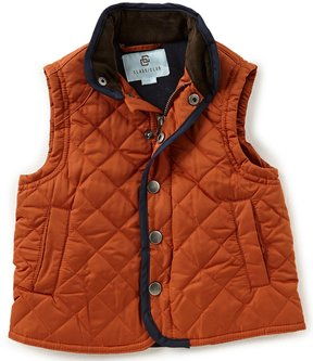 Class Club Little Boys 2T-7 Quilted Nylon Vest