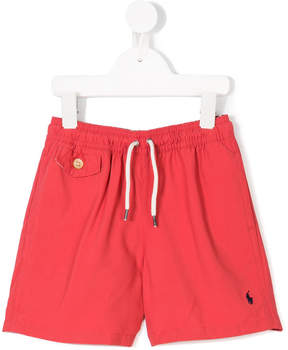 Ralph Lauren embroidered logo swim shorts