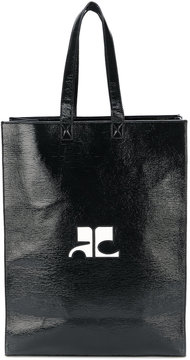 Courrèges rectangular shopping bag