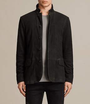 AllSaints Seymour Leather Blazer