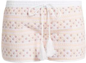 Melissa Odabash Carolina embroidered shorts