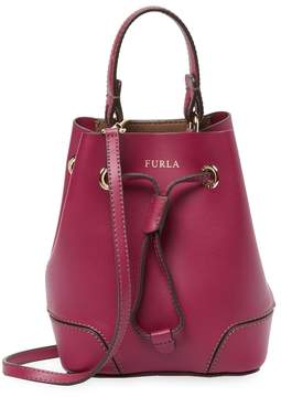 Furla Women's Mini Leather Bucket Bag